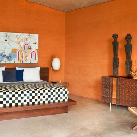 Villa Umah Tampih, Ubud, Bali - Master Bedroom Interior