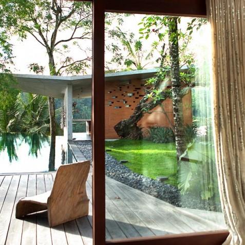 Villa Umah Tampih, Ubud, Bali - Master Suite View