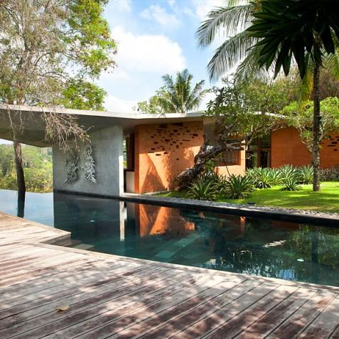 Villa Umah Tampih, Ubud, Bali - Pool and Garden