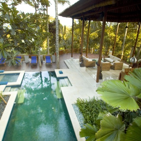 Villa Vajra, Ubud, Bali - Pool and Living Area