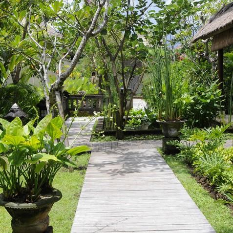 Villa Waringin - Garden Path - Pantai Lima, Canggu, Bali