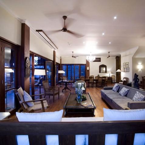 Villa Waringin - Living and Dining Area - Pantai Lima, Canggu, Bali