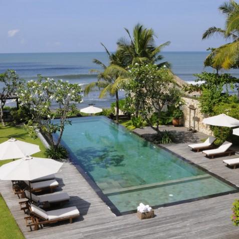 Villa Waringin - View from Upstairs Terrace - Pantai Lima, Canggu, Bali