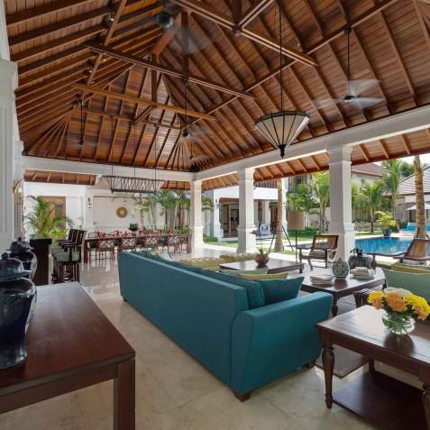 Villa Windu Asri - Grand Living Pavilion - Seminyak, Bali