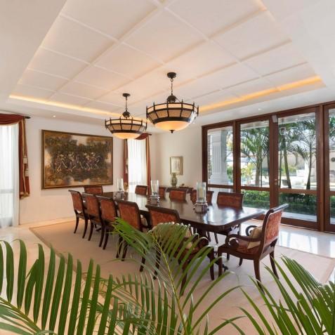 Villa Windu Asri - Main House Dining Area - Seminyak, Bali