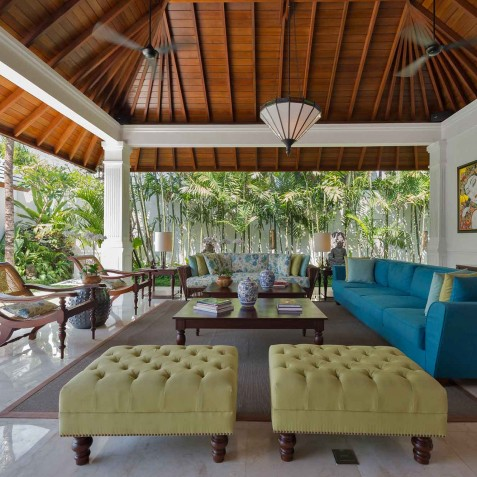Villa Windu Asri - Open Plan Living Area - Seminyak, Bali