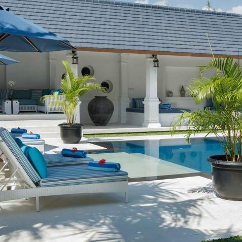 Villa Windu Asri - Poolside Sun Deck - Seminyak, Bali