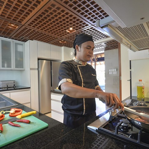 Villa Windu Sari - Kitchen and Chef - Seminyak, Bali