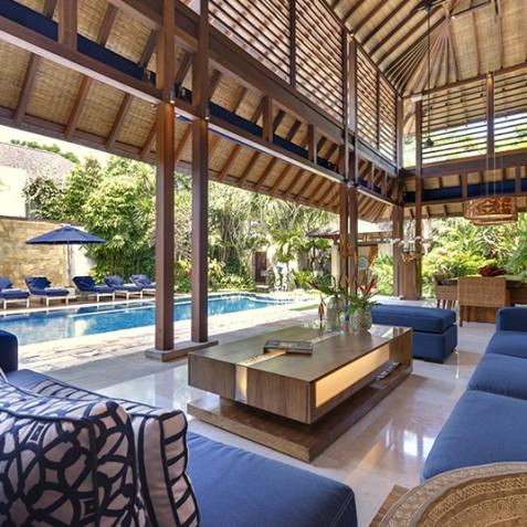 Villa Windu Sari - Open Living Area - Seminyak, Bali