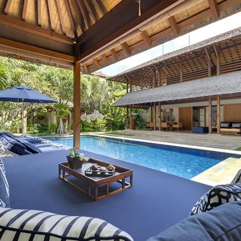 Villa Windu Sari - View from Pool Bale - Seminyak, Bali