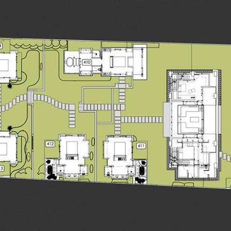 Villa Jamadara - Semara Luxury Villa Resort - Uluwatu, Bali - Floor Plan