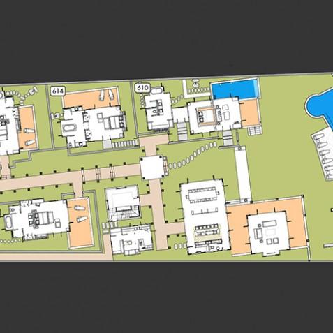 Villa Pawana - Semara Luxury Villa Resort - Uluwatu, Bali - Floor Plan