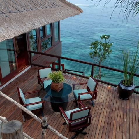 Bidadari Cliffside Estate, Nusa Dua, Bali - Cabana Deck