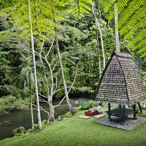 COMO Shambhala Estate, Bali - Picnic by the River