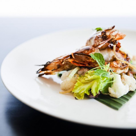 COMO Shambhala Estate, Bali - Tiger Prawns