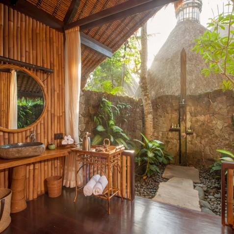 Fivelements Puri Ahisma, Bali - Rivefront Suite Bathroom