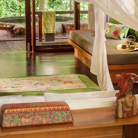 Fivelements Puri Ahisma, Bali - Riverfront Suite Interior Detail