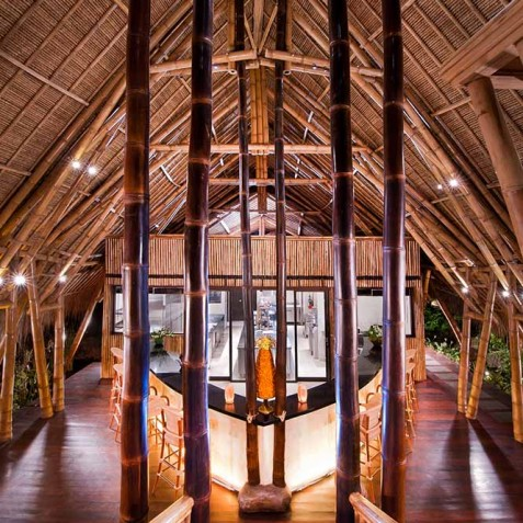Fivelements Puri Ahisma, Bali - Sakti Dining Room & Kitchen