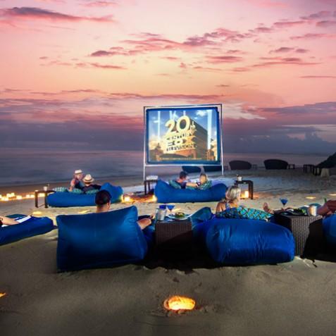 Karma Kandara Resort Facilities - Movie Night