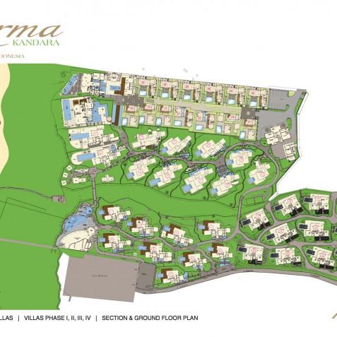 Karma Kandara Resort Bali - Floor Plan