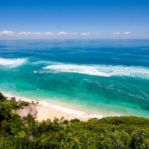 Karma Kandara Resort Bali - Aerial View