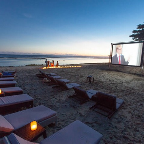 Karma Kandara Resort Bali - Cinema at Karma Beach