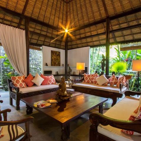 Sukhavati Ayurvedic Retreat & Spa, Bali - Lounge