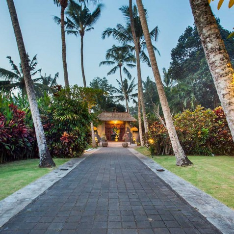 Sukhavati Ayurvedic Retreat & Spa, Bali - Entrance