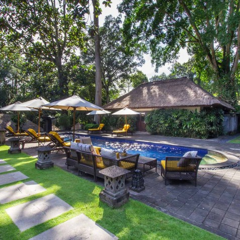 Sukhavati Ayurvedic Retreat & Spa, Bali - Main Pool Area