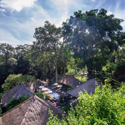 Sukhavati Ayurvedic Retreat & Spa, Bali - Views