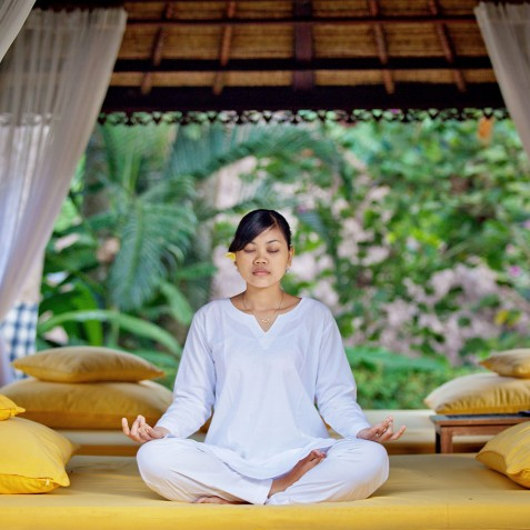 Sukhavati Ayurvedic Retreat & Spa, Bali - Meditation Bale