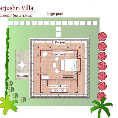 Sukhavati Ayurvedic Retreat & Spa, Bali - Villa Manjushri - 1BR Luxury Villa