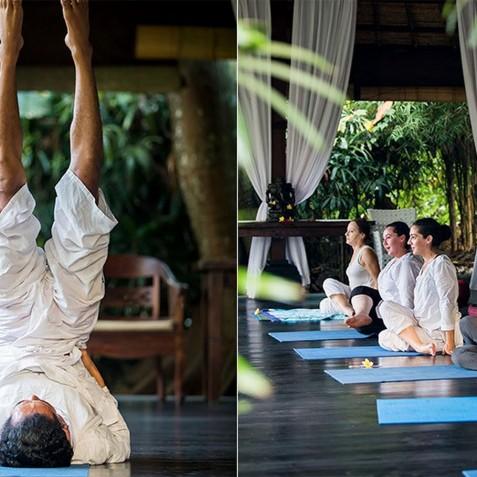 Sukhavati Ayurvedic Retreat & Spa, Bali - Yoga