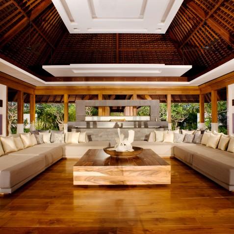 The Istana Bali - Living Room - Uluwatu, Bali