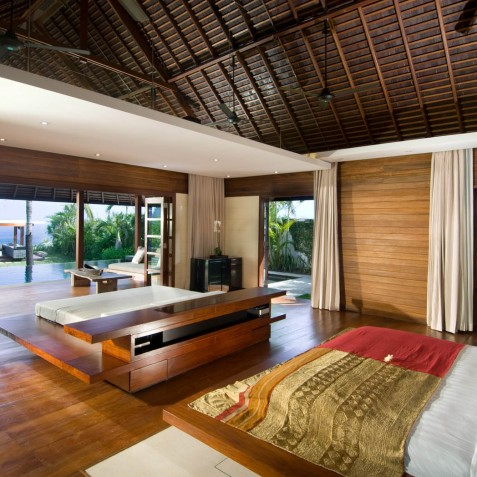 The Istana Bali - Master Suite View - Uluwatu, Bali