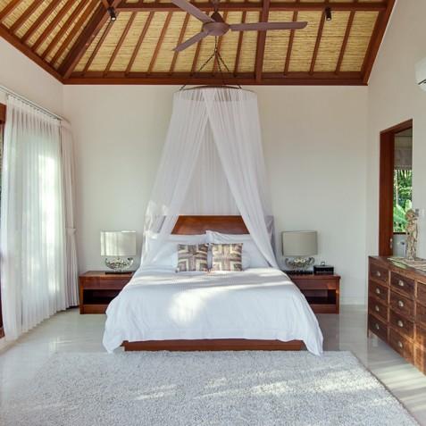 Tirta Nila Beach House, Candidasa, Bali - Upstairs Guest Bedroom
