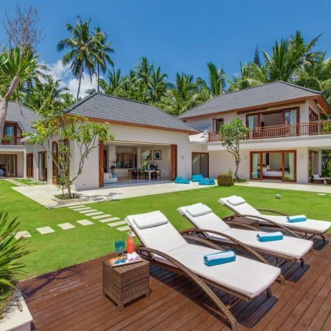 Tirta Nila Beach House, Candidasa, Bali - View of Beach House