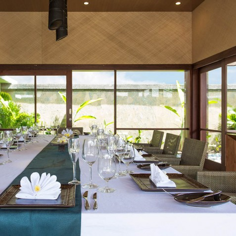 Villa Bayu Gita Beachfront Bali - Indoor Dining