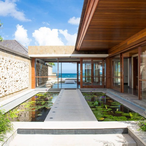Villa Bayu Gita Beachfront Bali - Pathway