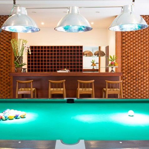 Villa Bayu Gita Beachfront Bali - Bar & Pool Table