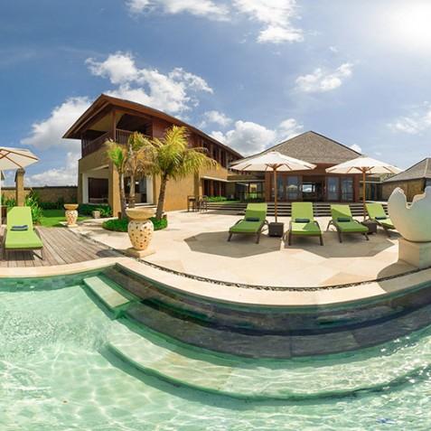 Villa Bayu Gita Beachfront Bali - Panorama