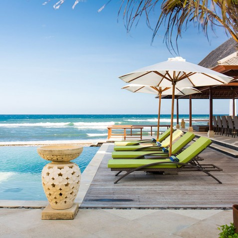 Villa Bayu Gita Beachfront Bali - Poolside