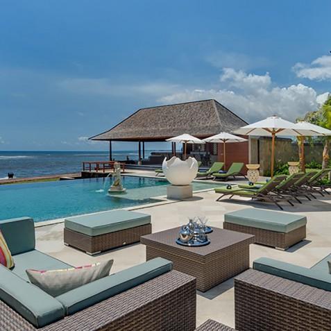 Villa Bayu Gita Beachfront Bali - Sun Deck