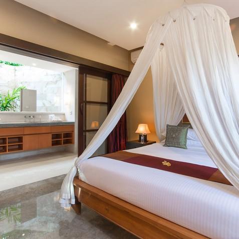 Villa Bayu Gita Residence Bali - Bedroom Three