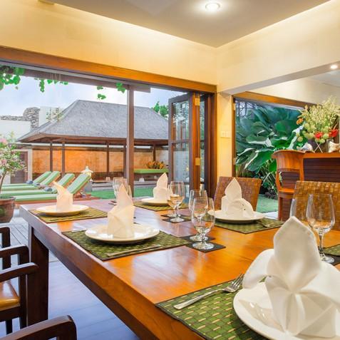 Villa Bayu Gita Residence Bali - Dining