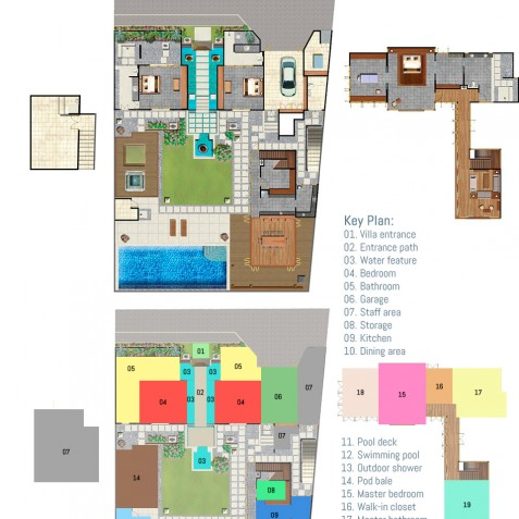 Villa Bayu Gita Residence Bali - Floor Plan