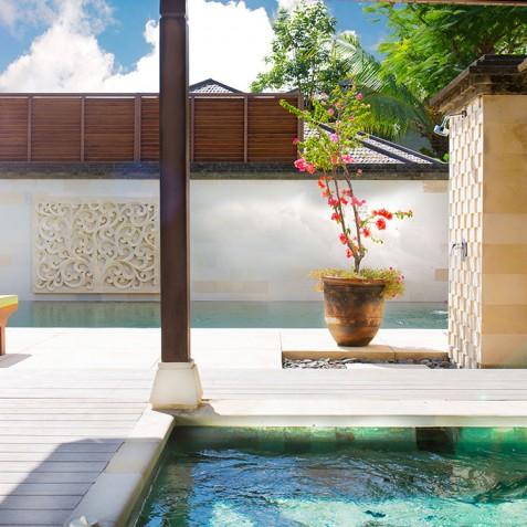 Villa Bayu Gita Residence Bali - Pool Deck