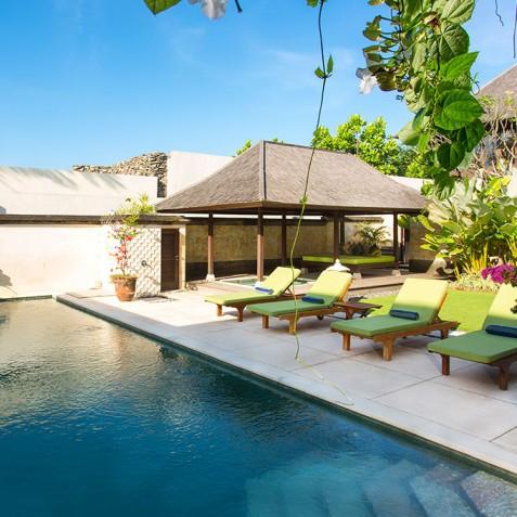 Villa Bayu Gita Residence Bali - Poolside
