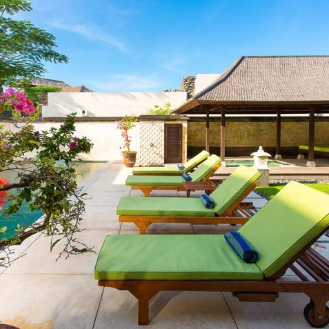 Villa Bayu Gita Residence - Sun Loungers - Sanur-Ketewel, Bali