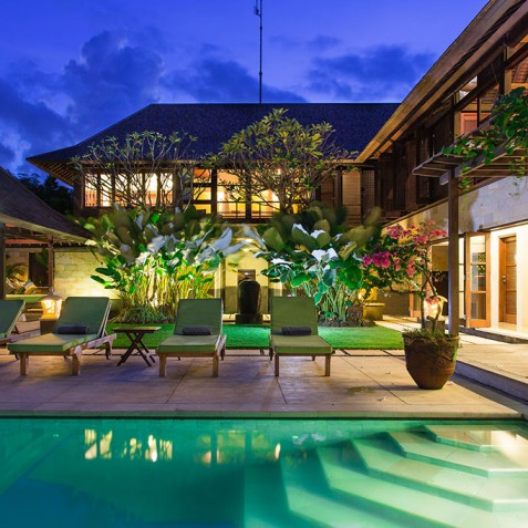 Villa Bayu Gita Residence Bali - Villa at Night